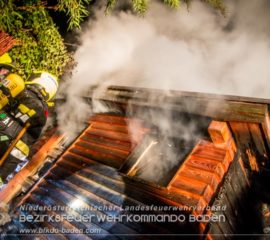 Gartenhausbrand in Grillenberg