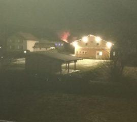 Heckenbrand in der Florianigasse