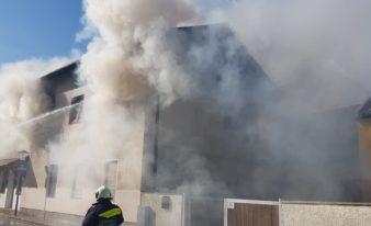 Zimmerbrand in Grillenberg